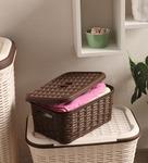 All Time Plastic Brown 6 L Cresta Box