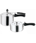 Home Zone (ISI) Combo Of 2 Litre & 3 Litre Pressure Cookers