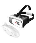Bingo V200 Virtual Reality VR Box with Minipad Control- Black