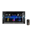 JVC KW-V11 Double DIN DVD/CD/USB Receiver With WVGA Touch Panel Monitor