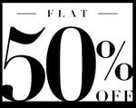 abof : Flat 50% off on Mens & Womens Apparel