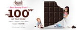 Get flat Rs. 100 off on your order.