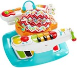 Fisher Price 4-in-1 Step 'n Play Piano(Multicolor)