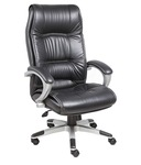 Regal High Back Executive Chair in Black Leatherette