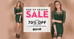 Upto 70% off on Fashion Products (End Of Season Sale)