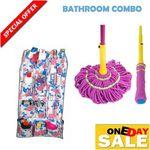 Twist Mop and Bathroom Shelf COMBO