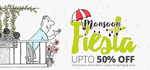 Upto 40% off on Home Decor, Lamps
