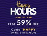 Americanswan Happy Sale - Flat 59% off (2 pm - 5pm)