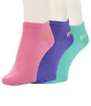 Reebok Women's Flat Knit Low Cut Socks - 3 Pair Pack