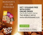 Get Free Yoga Bar with every grocery order on Nature's Basket