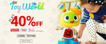 Flat 40% off on Fisher price,Thomas & friends, Barbie & More