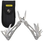 Stanley 1-84-519 Multi Utility Plier(12 Tools, Silver)