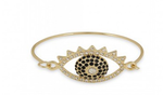Glitz Evil Eye Bracelet || Classique Orbit Necklace || Imperial Earrings