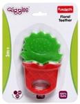 Funskool Floral Teether Rattle(Multicolor)