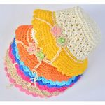 Hats for Baby Girls - Pack of 2