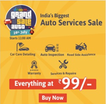 Droom grand auto sale : Everything starting from Rs 99/-