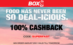 100% Casbback on Food Orders above Rs.200