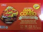 Top Ramen NISSIN Family Combo, 770g