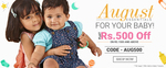 Flat Rs.500 off on Rs.1500 and above