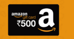 Amazon Rs.500 Gift Card