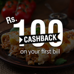 Get 100% Off on your First Food Bill