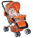 Brunte Orange Foldable Strollers