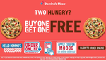 Buy One Pizza, Get One Free!