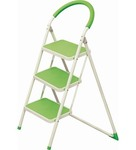 Ozone Green 3 Step Metal 2.75 FT Ladder