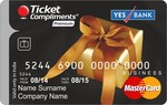 Ticket Compliments Premium Gift Card Worth Rs. 5000