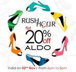 Flat 20% Off on ALDO
