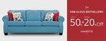 Upto 50% off + extra 20% off on Home decor and Furniture