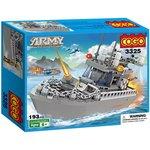 Saffire Army 193 Pieces Patrol Boat Building Blocks