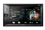 Sony XAV-W650BT LCD DVD Receiver Black Double-DIN