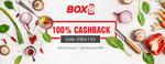 Box8: Get 100% cashback on food order above Rs.200