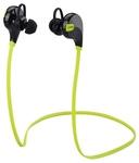 Bingo S1 Bluetooth Headset with Mic - Black and Green