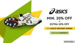 Sports365 : Minimum 20% off + extra 10% off on Basics Cricket Shoes.