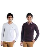 Eprilla Men's Sweaters (Pack of 2)