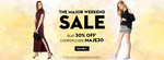 Flat 30% off on fashion apparels above Rs.1000.