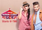 Shopclues Fashion Closet Sale, Get Minimum 70% off on All Fashion & Lifestyle