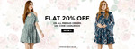 Faballey : Flat 20% off on all prepaid orders.