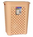 Cello Classic Plastic 50 L Beige Laundry Basket