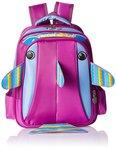 Albert and James Junior Synthetic Purple School Bag