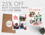 Get 25% off on collage prints