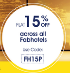 Fabhotels : Flat 15% off across all FabHotels