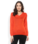 Park Avenue Woman Orange Pullovers