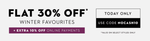 Flat 30% + Extra 10% Off on Winter Wear (Adidas, Antigravity, Fila & more top brands) starts Rs.420