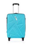 Safari Traffik-Anti Scratch Teal 4 Wheel Hard Luggage-Size Small (Below 60 Cm)