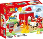 Saffire Fire Fighter Building Blocks With Light And Sound - 32 Pieces