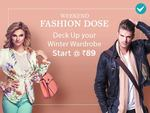 Shopclues : Weekend Fashion Dose - Starts @ Rs.89