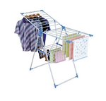 Ozone Wing Style Clothes Drying Stand (Silver)
